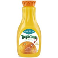 Tropicana Pure Premium Low Acid No Pulp Orange Juice 52oz BTL product image