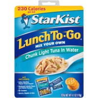 Starkist Lunch To Go Chunk Light Tuna Kit 4.1oz PKG product image