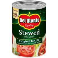Del Monte Stewed Tomatoes Original Recipe 14.5oz Can product image