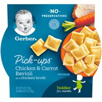Gerber Pick-ups Chicken & Carrot Ravioli 6oz PKG product image