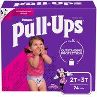Huggies Pull-Ups Training Pants 2T-3T Girls (18-34LB) 74CT product image