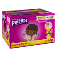 Huggies Pull-Ups Training Pants 2T-3T Girls (18-34LB) 74CT product image