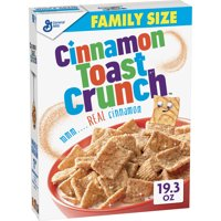 General Mills Cinnamon Toast Crunch Cereal 19.3oz Box product image