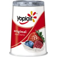 Yoplait Original Yogurt Lowfat Mixed Berry 6oz Cup product image