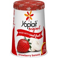 Yoplait Original Yogurt Lowfat Strawberry Banana 6oz Cup product image