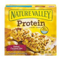 Nature Valley Protein Chewy Bars Salted Caramel Nut 5CT 7.1oz product image