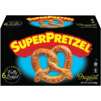 Superpretzel Soft Pretzels 6CT 13oz Box product image