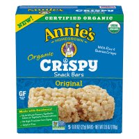 Annie's Organic Original Crispy Snack Bars 3.9oz Box product image