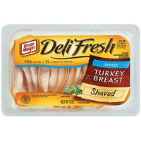 Oscar Mayer Deli Shaved Smoked Turkey 9oz PKG product image