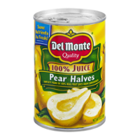 Del Monte Pear Halves in 100% Juice 15oz Can product image