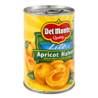 Del Monte Lite Apricot Halves 15oz. Can product image