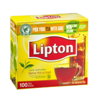 Lipton Tea Bags 100% Natural Tea 100CT product image