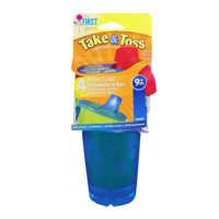 The First Years Take & Toss Sippy Cups 9+m 4CT product image