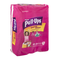 Huggies Pull-Ups Training Pants Learning Designs 4T-5T Girls Jumbo Pack 18CT product image