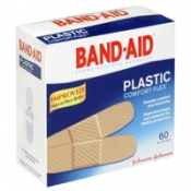 Johnson & Johnson Band-Aid Plastic Bandages 60CT PKG product image