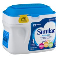 Similac Advance Infant Formula Powder 1.45LB PKG product image