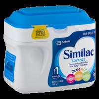 Similac Advance Infant Formula Powder 1.45LB PKG product image