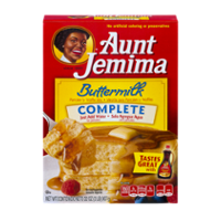 Aunt Jemima Buttermilk Complete Pancake Mix 32oz Box product image
