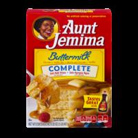 Aunt Jemima Buttermilk Complete Pancake Mix 32oz Box product image
