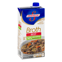 Swanson Beef Broth Low Sodium 32oz. Box product image