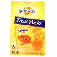 Sunsweet Fruit Packs Apricots 0.7oz Packs 6PK 4.2oz Bag product image