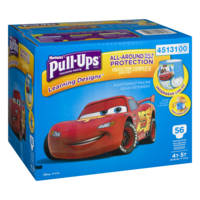 Huggies Pull-Ups Training Pants Learning Designs 4T-5T Boys 56CT product image