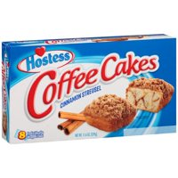 Hostess Coffee Cakes Cinnamon Streusel 8CT PKG 11.6oz product image