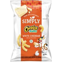 Cheetos Simply Cheetos Puffs White Cheddar 8oz Bag product image
