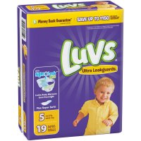 Luvs Diapers Size 5 (Over 27LB) Jumbo Pack 19CT product image
