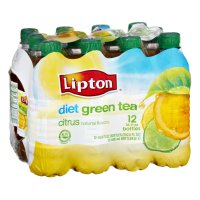Lipton Green Tea with Citrus Diet 12PK of 16.9oz. BTLS product image