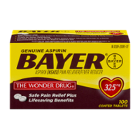 Bayer Aspirin 325mg Tablets 100CT product image