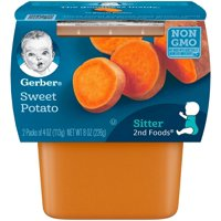 Gerber 2nd Vegetables Sweet Potatoes 4oz 2PK product image