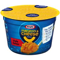 Kraft Easy Mac Triple Cheese Macaroni & Cheese Dinner Cup 2.05oz product image