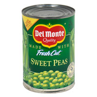 Del Monte Sweet Peas 15oz Can product image