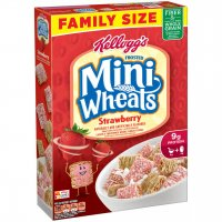 Kellogg's Frosted Mini Wheats Strawberry 15.5oz Box product image