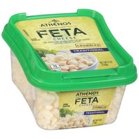 Athenos Feta Cheese Crumble Traditional 6oz product image