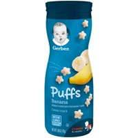 Gerber Puffs Banana 1.48oz PKG product image