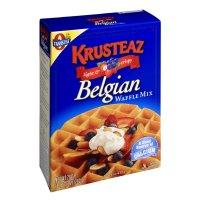 Krusteaz Light & Crispy Belgian Waffle Mix 28oz Box product image