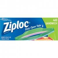 Ziploc Sandwich Bags 40CT product image
