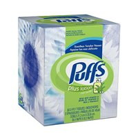 Puffs Plus Facial Tissue with Lotion 56CT Box product image