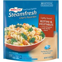 Birds Eye Steamfresh Lightly Sauced Pasta Rotini & Vegetable 11oz Bag product image