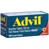 Advil Ibuprofen 200 mg Coated Tablets 100CT product image