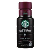 Starbucks Iced Coffee Dark Roast Unsweetened 48oz BTL product image