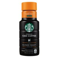 Starbucks Iced Coffee Blonde Roast Unsweetened 48oz BTL product image