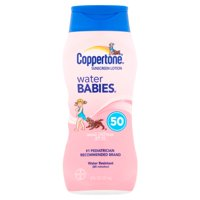 Coppertone Water Babies Sunscreen Lotion SPF 50 6oz BTL product image