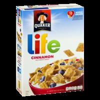 Quaker Life Cereal Cinnamon 18oz Box product image