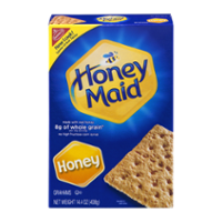 Nabisco Honey Maid Graham Crackers Honey 14.4oz Box product image