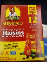 Sun Maid Raisins 12CT Mini Boxes 6oz PKG product image