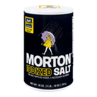 Morton Iodized Salt 26oz Can product image