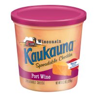 Kaukauna Spreadable Port Wine Cheese 11.3oz Tub product image
